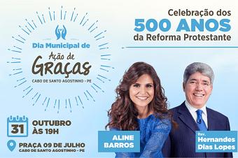 Aline Barros e Hernandes Dias Lopes