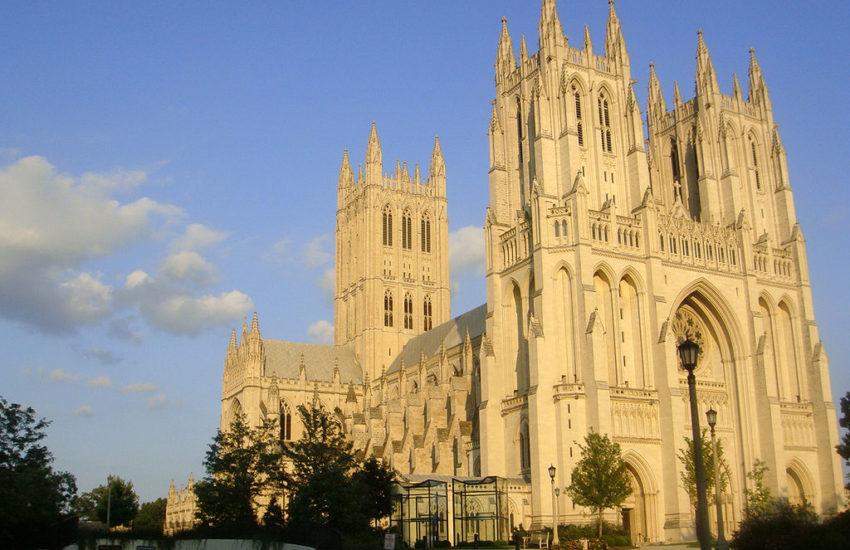 Catedral Anglicana em Washington, é a maior catedral protestante dos Estados Unidos e a sexta maior do mundo (FOTO): Mario Roberto Duran Ortiz/Camila Santos Ferreira